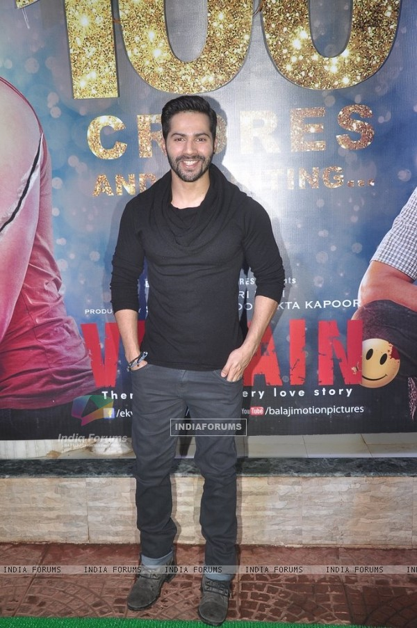 Varun Dhawan at the Success Bash of Ek Villain