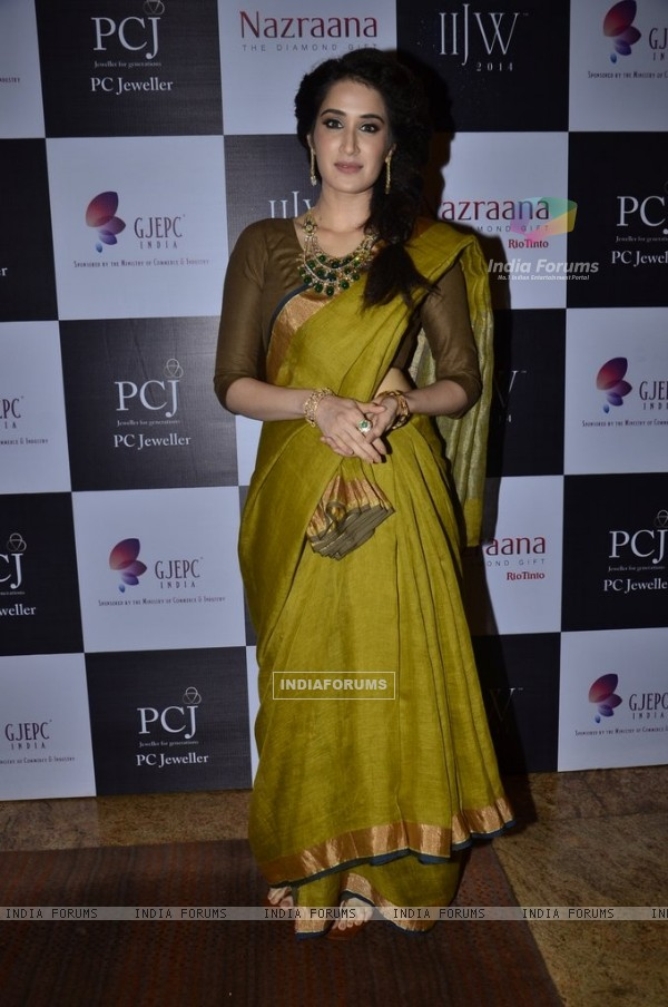 Sagarika Ghatge at the IIJW 2014 - Day 2