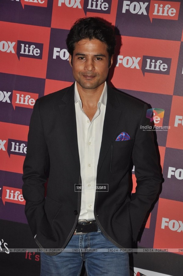Rajeev Khandelwal was seen at the Fox Life Party