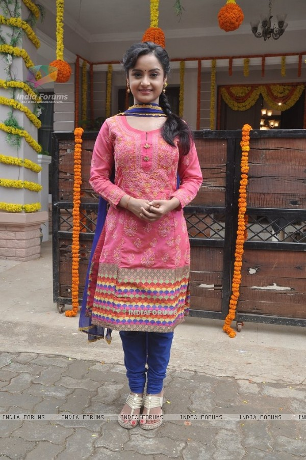 Ishita Ganguly at the Launch of Shastri Sisters