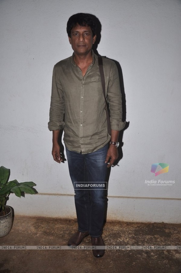 Adil Hussain at the Screening of Hate Story 2