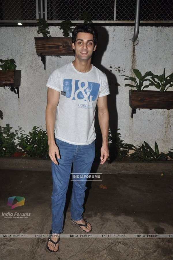 Karan Wahi at the Screening of Hate Story 2