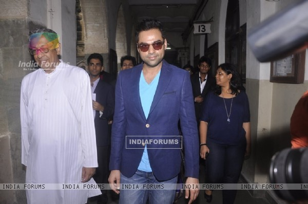 Abhay Deol at the Launch of St. Xavier's Fest 'Malhar'