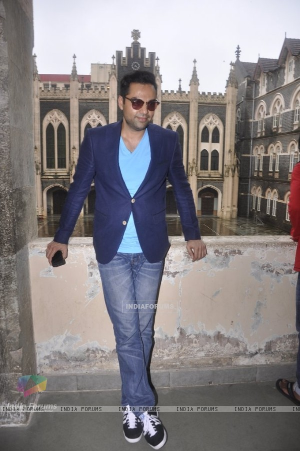 Abhay Deol poses for the camera
