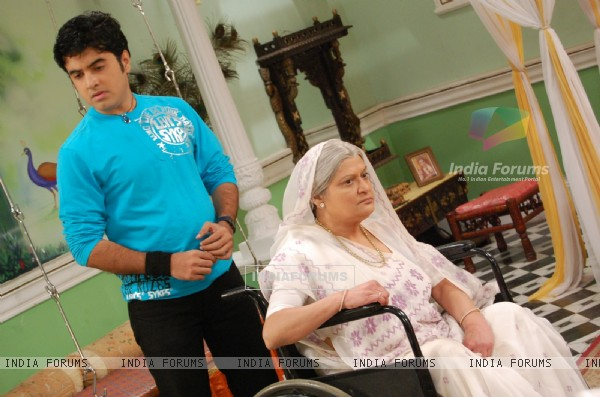 Devki angry with his son Gautam
