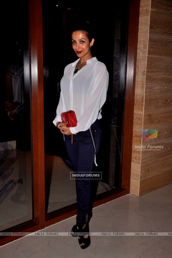 Malaika Arora Khan at the Launch Party of Aqaba Restaurant