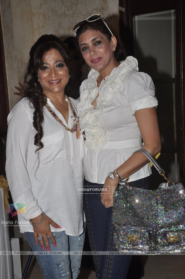 Charu Anand with a friend at her Birthday Bash