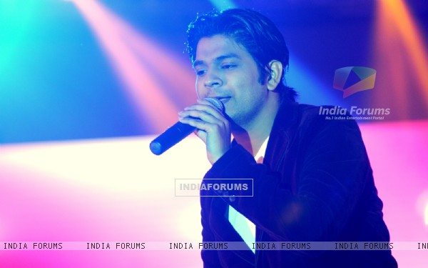 Ankit Tiwari performs at the Ticket to Bollywood Event