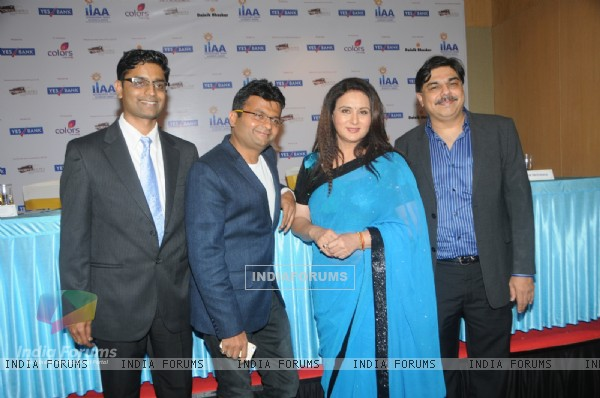 Poonam Dhillon at the International Indian Achiever's Award 2014