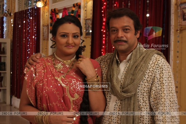 A still image of Sameer Rajda and Urvashi Upadhya