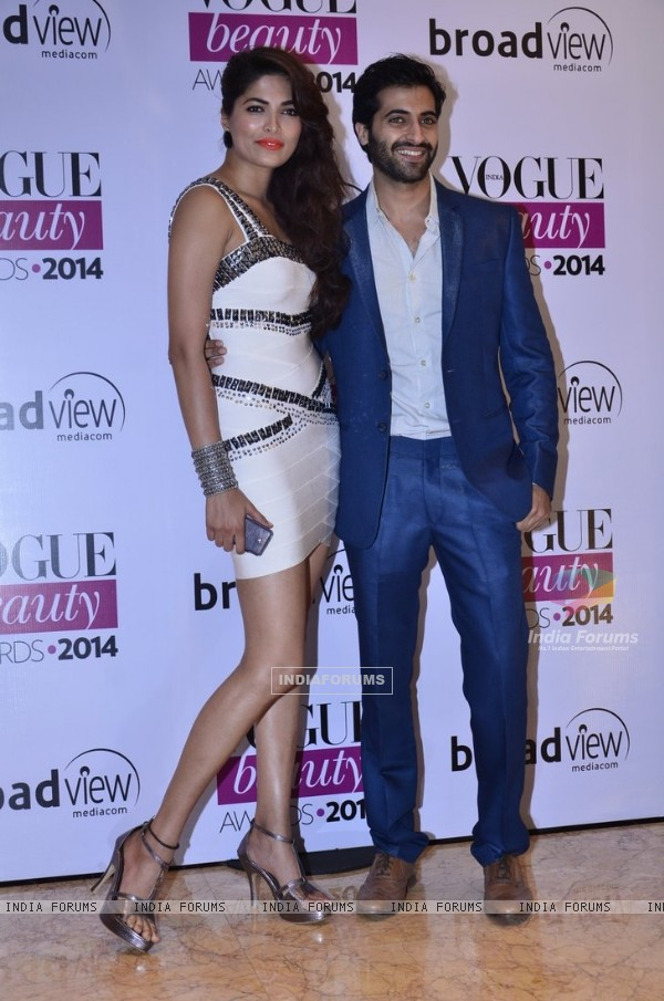 Parvathy Omanakuttan and Akshay Oberoi were at the Vogue Beauty Awards