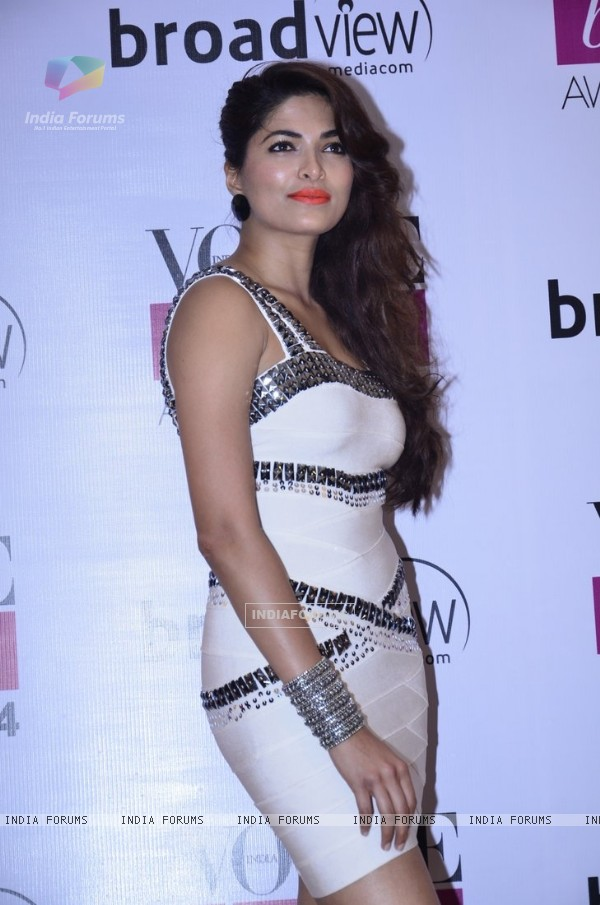 Parvathy Omanakuttan was at the Vogue Beauty Awards