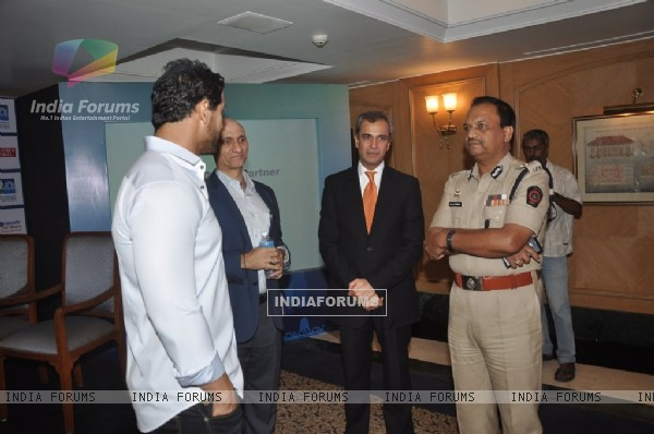 John Abraham was at Standard Charted Mumbai Marathon 2015 Launch Registration