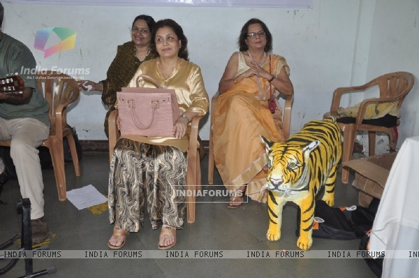 Maya Alagh at NDTV Save The Tigers Contest