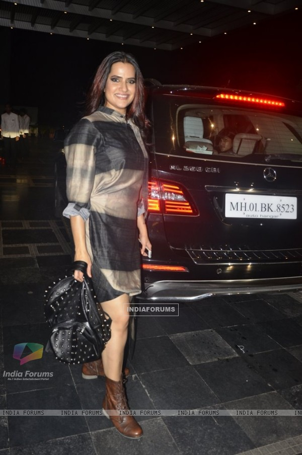 Sona Mohapatra was spotted at Etihad Jet Collaboration Event