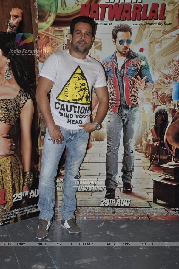 Emraan Hashmi at Press Meet of Raja Natwarlal
