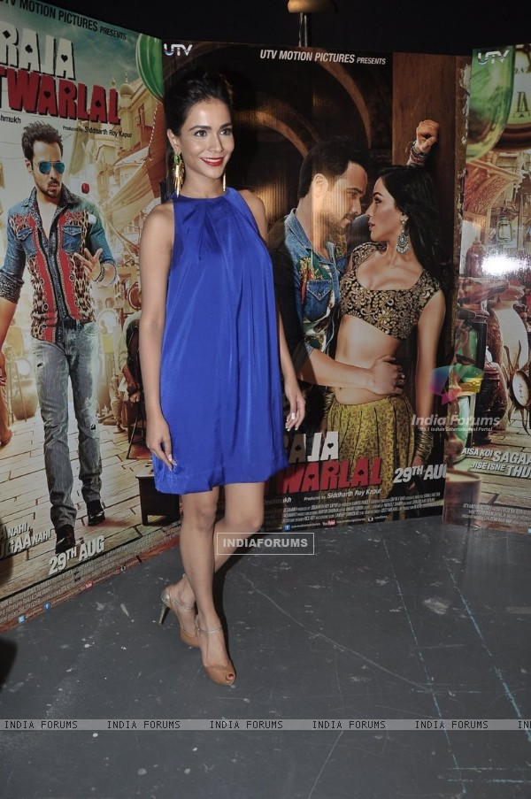 Humaima Malick at Press Meet of Raja Natwarlal
