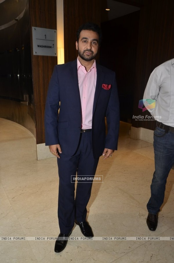 Raj Kundra was spotted at the Launch of Goa Wedding Fest