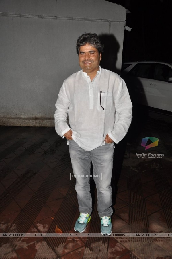 Vishal Bharadwaj was at Sanjay Leela Bhansali's party for Mary Kom completion