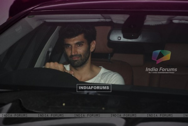 Aditya Roy Kapoor was spotted at Karan Johar's Private Party