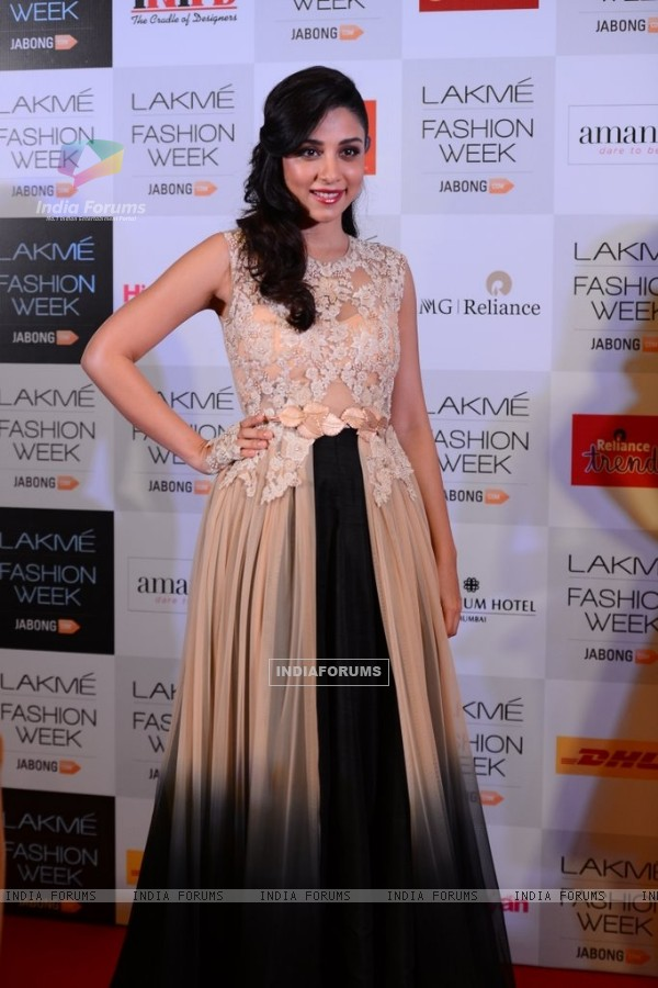 Amrita Puri at the Announcement of Lakme Fashion Week Summer Resort 2014