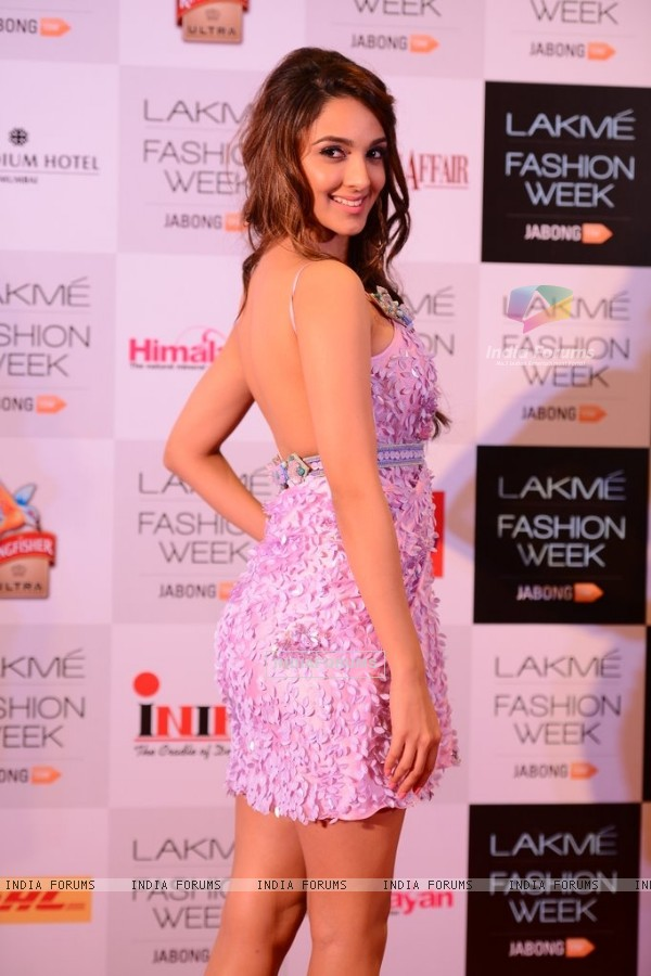 Kiara Advani was seen at the Announcement of Lakme Fashion Week Summer Resort 2014