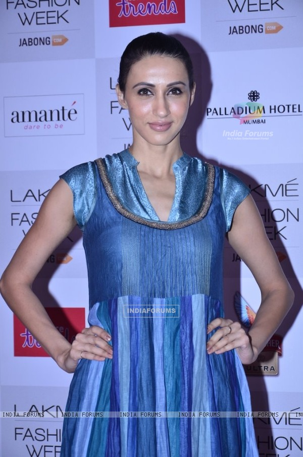 Alicia Raut at the Announcement of Lakme Fashion Week Summer Resort 2014