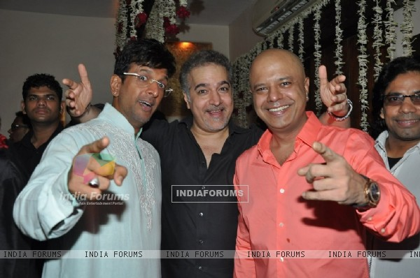Javed Jaffrey, Ravi Behl and Naved Jaffery was at the Rocking EID Bash