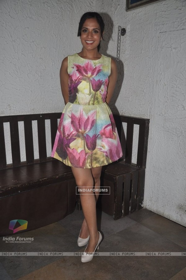 Richa Chadda at the Mumbai Press Conference: Trivial Disasters