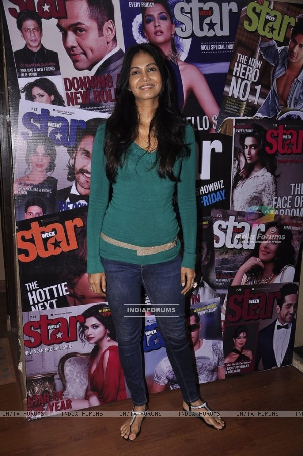 A guest at Starweek Magazine Launch