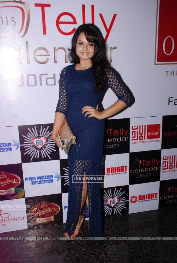 Giaa Manek was at the Telly House Calendar Launch