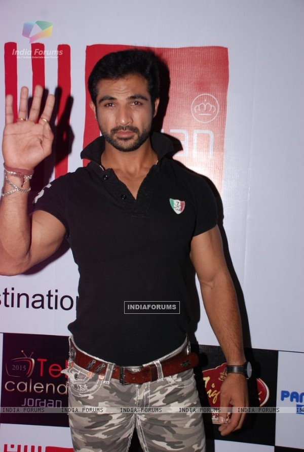 Mohammad Nazim at the Telly House Calendar Launch