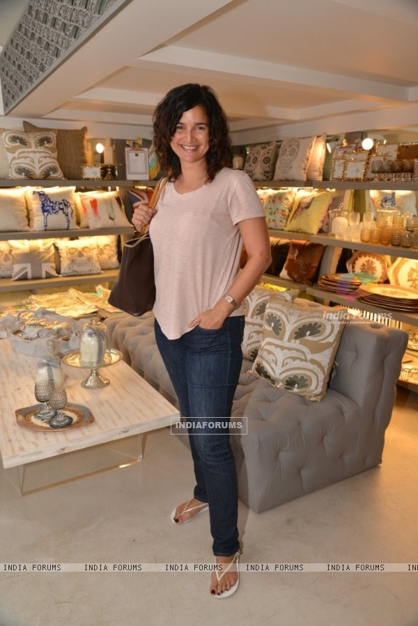 Sushma Reddy poses for the camera at The White Window
