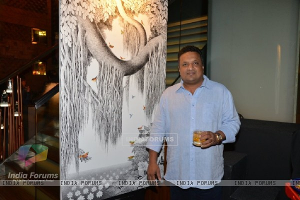 Sanjay Gupta was at Gallerie Angel Arts Event