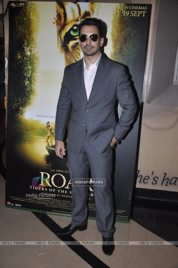 Abhinav Shukla was at Roar Film Launch