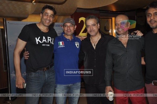 Rajat Bedi, Atul Agnihotri, Ravi Behl and Naved Jaffrey at Roar Film Launch