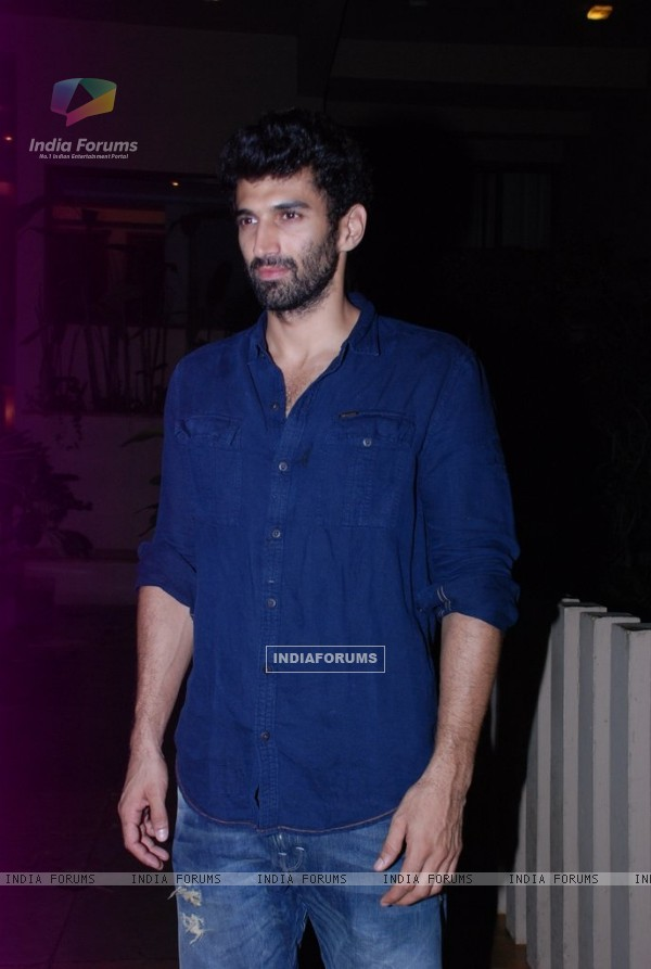 Aditya Roy Kapur was at Siddharth Roy Kapur's Birthday Bash