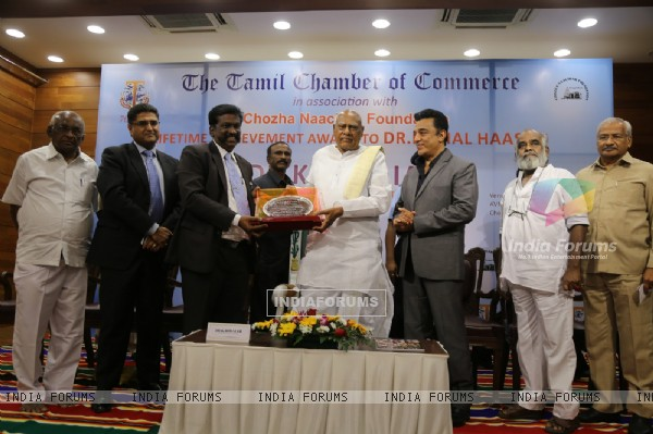 Padma Bhushan Dr. Kamal Hasan Felicitated with the Life Time Achievement Award