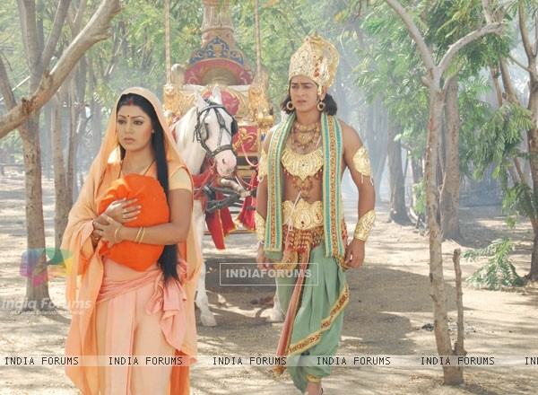 Sita and Lakshman