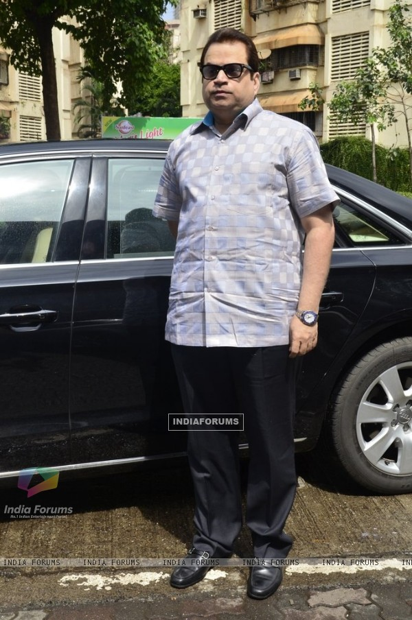 Ramesh Taurani was spotted at the Special Sale of Garments of the movie Entertainment