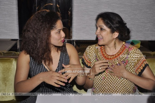 Masaba Gupta was seen in a conversation with her mother Neena Gupta at the Launch of Joss
