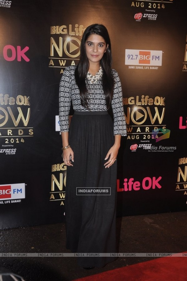 Pooja Gor was at the Life Ok Now Awards