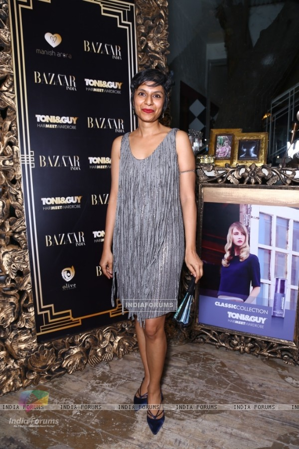 Nishat Fatima was at Harper's Bazaar's Big Fashion Party