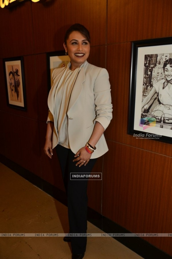Rani Mukherjee was at the Launch of Mardaani Anthem