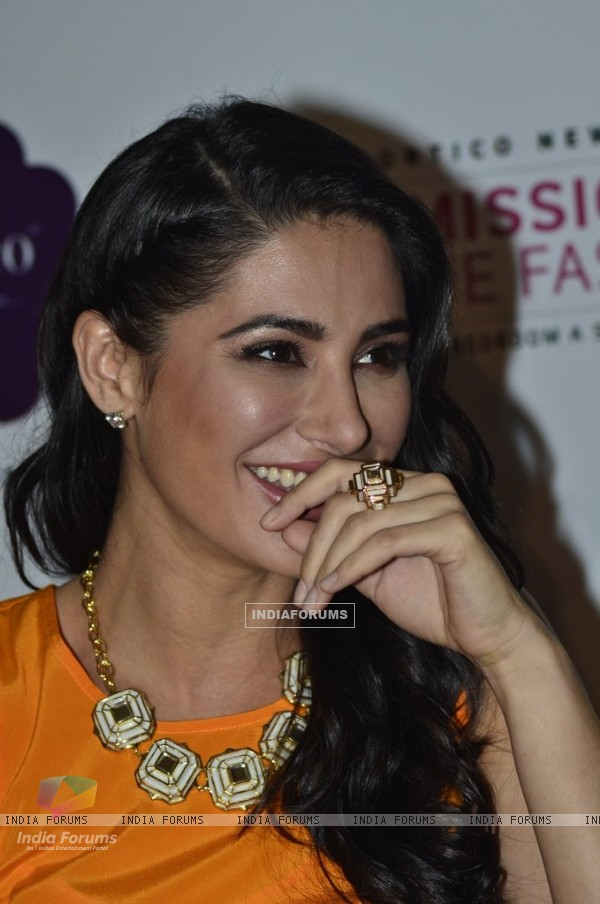 Nargis Fakri was all smiles at the Portico New York, Mission Home Fashion Event