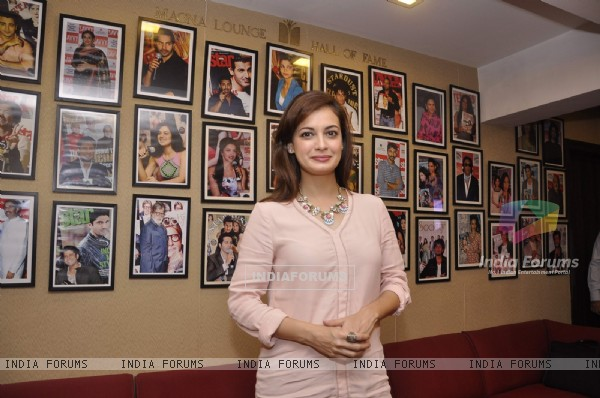 Dia Mirza was at the Launch of New Savvy Cover