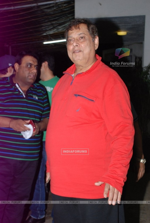 David Dhawan was spotted at the Special screening of Entertainment