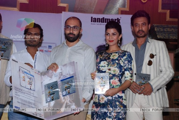 Nawazuddin Siddiqui, Nimrat Kaur and Irrfan Khan were at the DVD Launch of Lunchbox