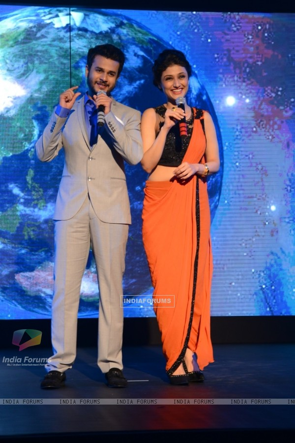Jay Soni and Ragini Khanna, as the host of Dil Hain Chotasa Choti Si Asha