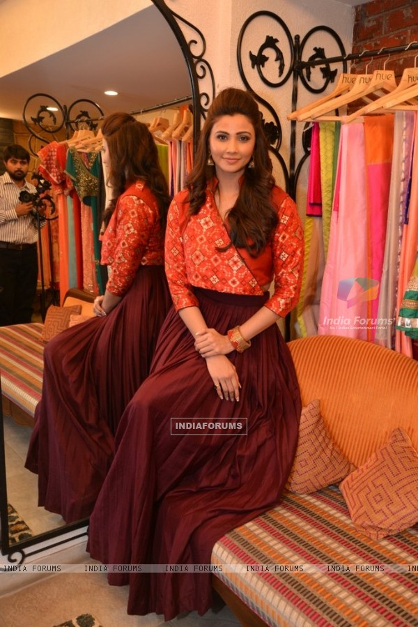 Daisy Shah gives a beautiful pose for the camera